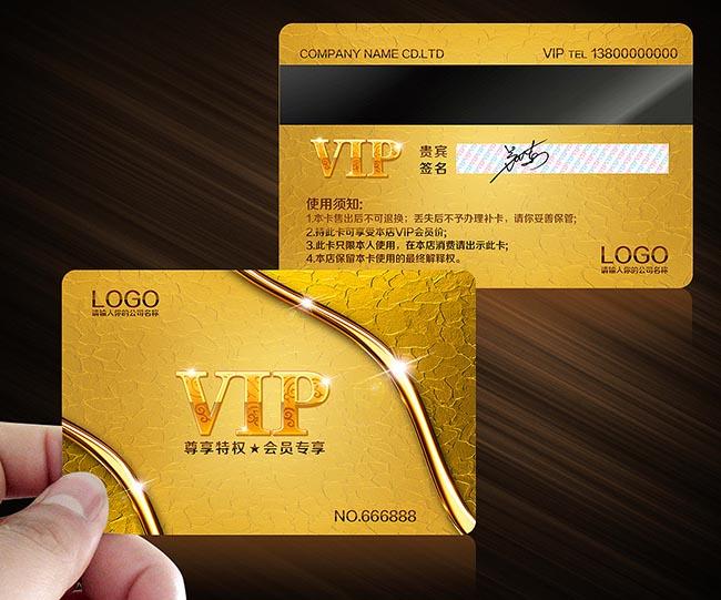 Vip Card Id Card Magnetic Card Vip Card Membership